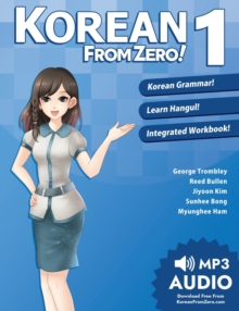 Korean from Zero! : Proven Methods to Learn Korean 1, Paperback / softback Book