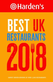 Harden's Best UK Restaurants, Paperback Book