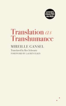 Translation as Transhumance, Paperback Book