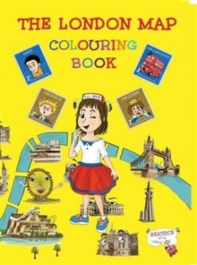 The London Map Colouring Book, Paperback Book
