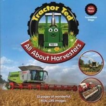 TRACTOR TED ALL ABOUT HARVESTERS BOOK, Paperback Book