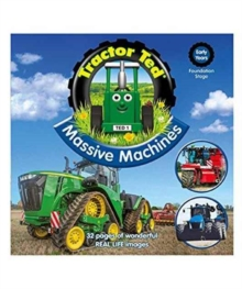 TRACTOR TED MASSIVE MACHINES BOOK, Paperback Book
