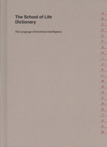 The School of Life Dictionary, Hardback Book