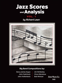 Jazz Scores and Analysis Vol. 1, Sheet music Book