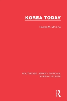 Korea Today, EPUB eBook