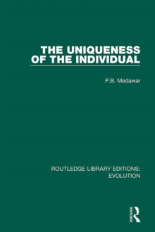 The Uniqueness of the Individual, PDF eBook