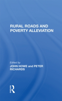 Rural Roads And Poverty Alleviation, PDF eBook