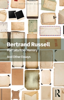 Portraits from Memory : And Other Essays, PDF eBook