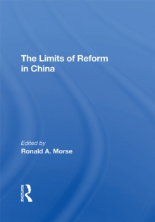 The Limits Of Reform In China, EPUB eBook