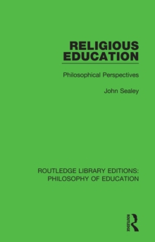 Religious Education : Philosophical Perspectives, EPUB eBook