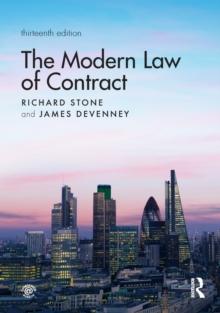 Q Amp A Contract Law Richard Stone 9781317675716 Telegraph border=