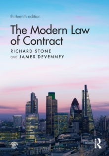 The Modern Law of Contract, EPUB eBook