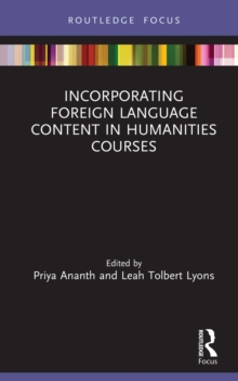Incorporating Foreign Language Content in Humanities Courses, EPUB eBook