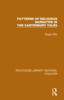 Patterns of Religious Narrative in the Canterbury Tales, PDF eBook
