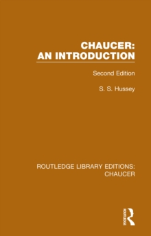 Chaucer: An Introduction : Second Edition, PDF eBook