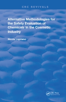 Alternative Methodologies for the Safety Evaluation of Chemicals in the Cosmetic Industry, EPUB eBook