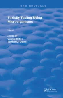 Toxicity Testing Using Microorganisms, EPUB eBook