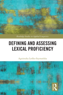 Defining and Assessing Lexical Proficiency, EPUB eBook