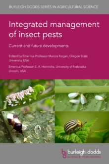 Integrated management of insect pests : Current and future developments, PDF eBook