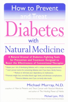 How to Prevent and Treat Diabetes with Natural Medicine, EPUB eBook