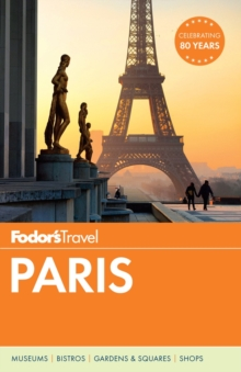Fodor's Paris, Paperback Book