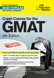 Crash Course for the GMAT, 4th Edition, Paperback / softback Book