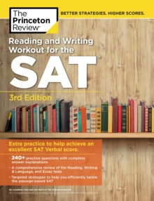 Reading and Writing Workout for the SAT, Paperback Book