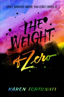 The Weight Of Zero, Paperback Book