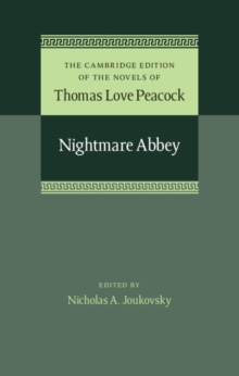 Nightmare Abbey, Hardback Book