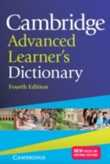 Cambridge Advanced Learner's Dictionary, Hardback Book