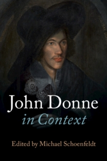 Literature in Context : John Donne in Context, Hardback Book