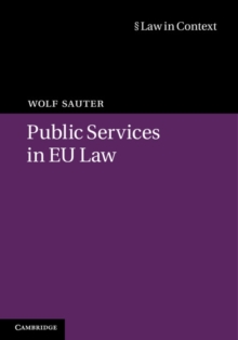 Public Services in EU Law, Hardback Book