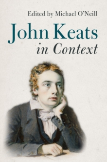 John Keats in Context, Hardback Book
