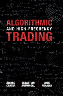 Algorithmic and High-Frequency Trading, Hardback Book