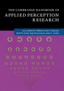The Cambridge Handbook of Applied Perception Research 2 Volume Hardback Set, Multiple copy pack Book