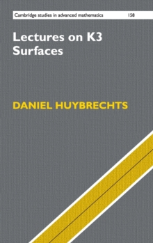Lectures on K3 Surfaces, Hardback Book