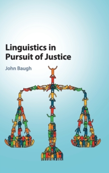 Linguistics in Pursuit of Justice, Hardback Book