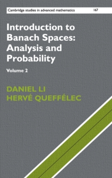 Introduction to Banach Spaces: Analysis and Probability, Hardback Book