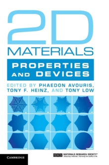 2D Materials : Properties and Devices, Hardback Book