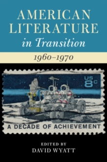 American Literature in Transition : American Literature in Transition, 1960-1970, Hardback Book