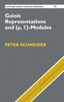 Galois Representations and (Phi, Gamma)-Modules, Hardback Book