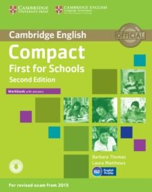 Compact First for Schools Workbook with Answers with Audio, Mixed media product Book