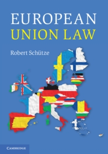 European Union Law, Paperback Book