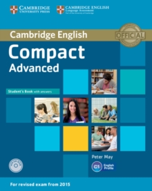 Compact Advanced Student's Book with Answers with CD-ROM, Mixed media product Book