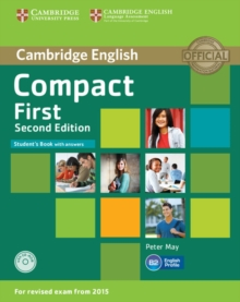 Compact First Student's Book with Answers with CD-ROM, Mixed media product Book