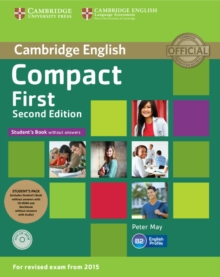 Compact First Student's Pack (Student's Book without Answers with CD Rom, Workbook without Answers with Audio), Mixed media product Book