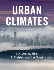 Urban Climates, Paperback / softback Book