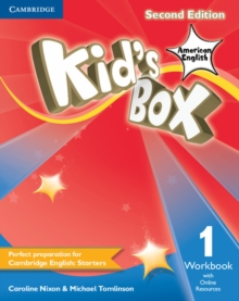 Kid's Box American English Level 1 Workbook with Online Resources, Mixed media product Book