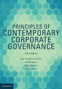 Principles of Contemporary Corporate Governance, Paperback Book