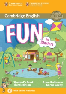 Fun for Starters Student's Book with Audio with Online Activities, Mixed media product Book